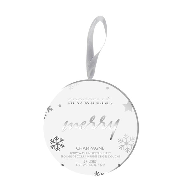 Spongelle | Ornament | Merry Champagne