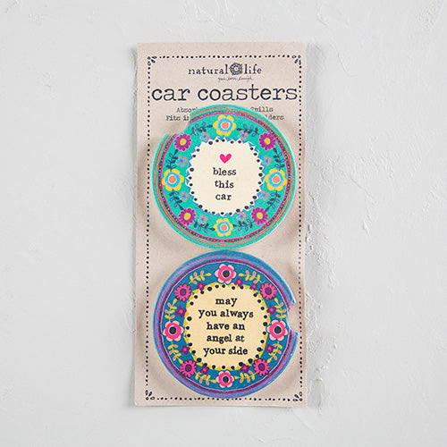 Car Coasters-Set Of 2 - Market Street Boutique St Augustine