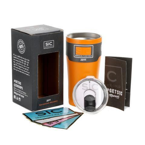 SIC Tumbler 20 oz. Daybreak Orange