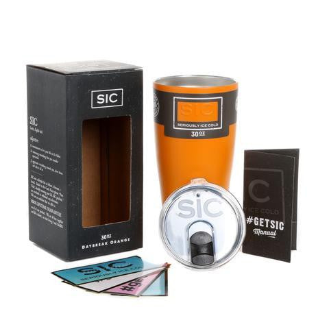 SIC Tumbler 30 oz. Daybreak Matte Orange