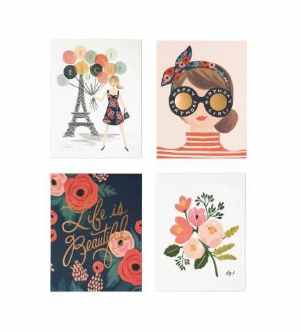 Parisian Foil Card Set