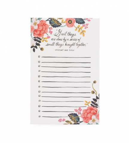 Rifle Paper Co Notepad - Market Street Boutique St Augustine