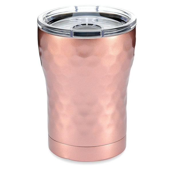 SIC 12 oz Tumbler-Hammered Rose Gold - Market Street Boutique St Augustine