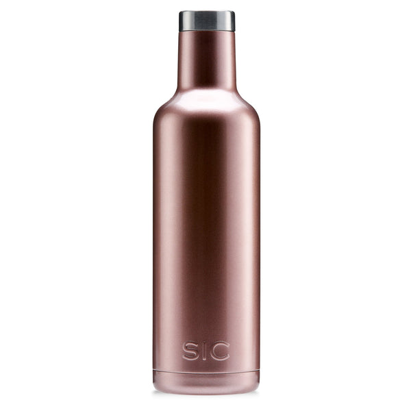 SIC Wine Bottle - Rose Gold