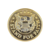 I Stand For Faith Lapel Pin
