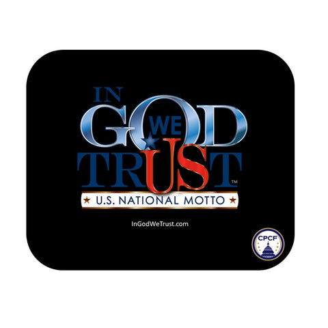 In God We Trust Mouse Pad