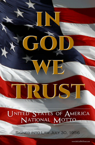CPCF - In God We Trust Poster