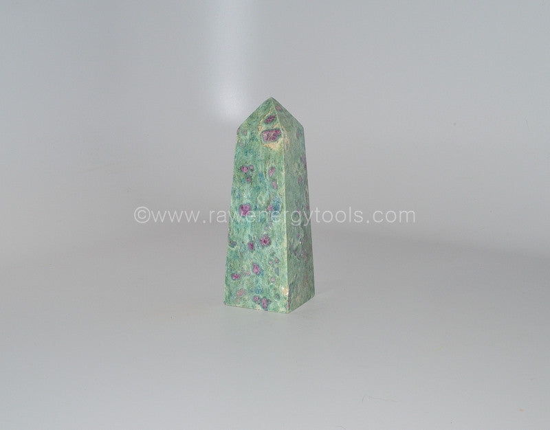 Ruby Fuchsite Towers - Raw Energy Tools