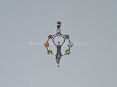 Goddess Chakra Pendant - Raw Energy Tools
