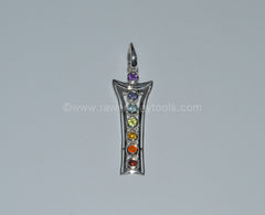 Goddess Isis Chakra Pendant - Raw Energy Tools