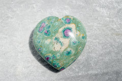 Ruby Fuchsite Hearts