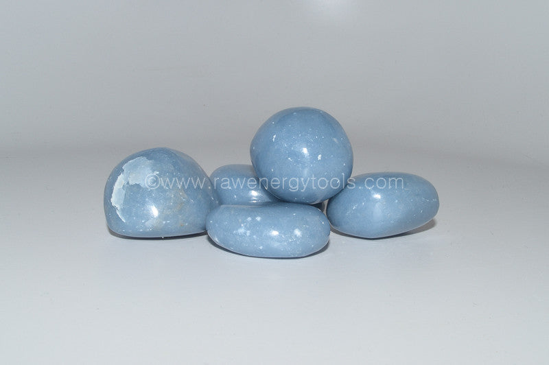 Angelite - Raw Energy Tools