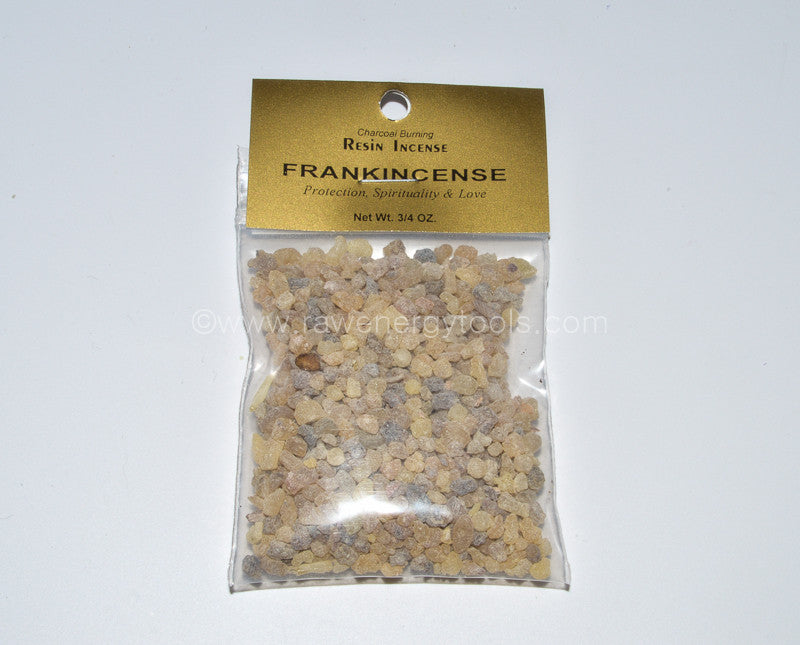 Frankincense Resin - Raw Energy Tools