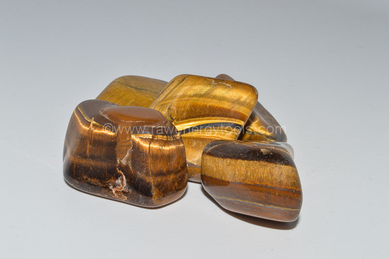 Tiger's Eye - Raw Energy Tools