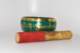 Tibetan Singing Bowl, Green - Raw Energy Tools