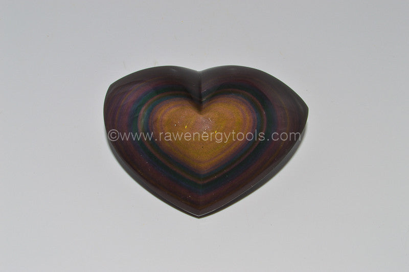 Rainbow Obsidian - Raw Energy Tools