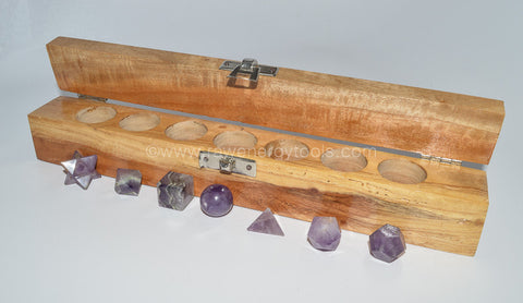 Amethyst Sacred Geometry Kit