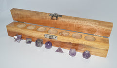Amethyst Sacred Geometry Kit - Raw Energy Tools