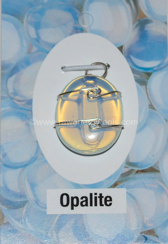Opalite Wrapped Pendant