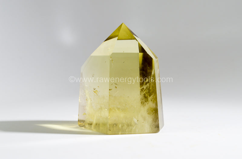 Yellow Quartz Points