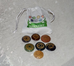 Engraved Disc Set W/ Pouch