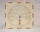 Tree of Life Chakra Kit - Raw Energy Tools