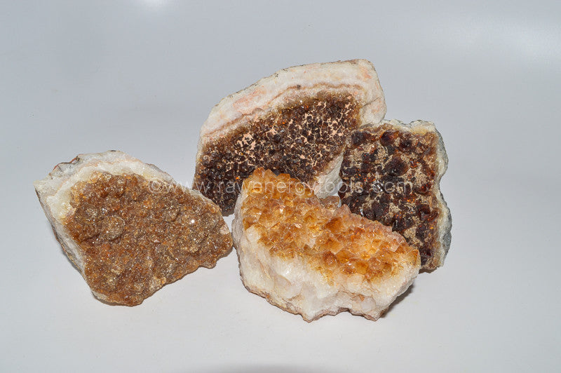 Citrine Clusters - Raw Energy Tools