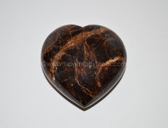 Garnet Puffy Heart - Raw Energy Tools