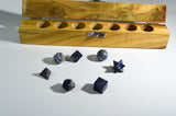 Lapis Lazuli Sacred Geometry Kit - Raw Energy Tools
