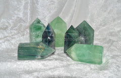 Fluorite Points - Raw Energy Tools
