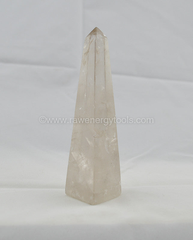 Smokey Quartz Towers - Raw Energy Tools