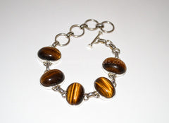 Tiger's Eye Bracelet - Raw Energy Tools