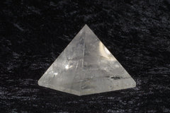 Clear Quartz Pyramid - Raw Energy Tools
