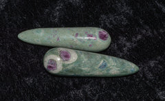 Ruby Fuchsite Crystal Wand