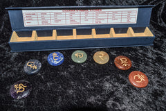 Engraved Chakra Disc Kit - Raw Energy Tools