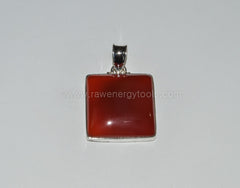 Carnelian Pendant - Raw Energy Tools