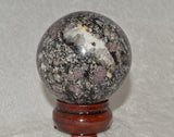 Red Spinel Sphere - Raw Energy Tools