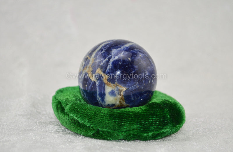Sodalite Sphere - Raw Energy Tools