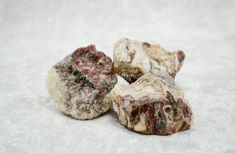 Crazy Lace Agate - Raw Energy Tools