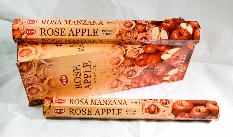 Rose Apple Incense - Raw Energy Tools