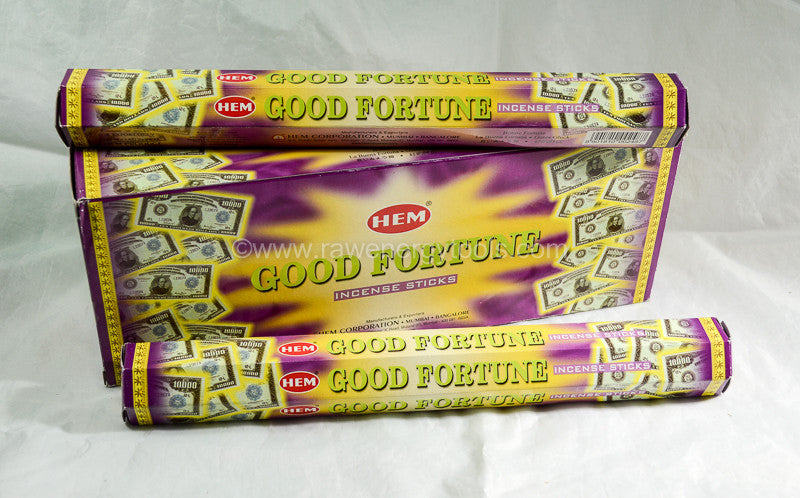 Good Fortune Incense - Raw Energy Tools