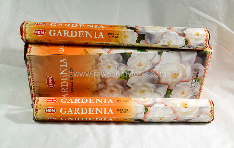 Gardenia Incense - Raw Energy Tools