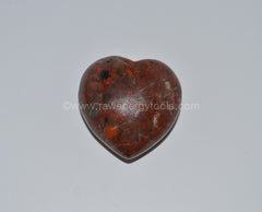 Brecciated Jasper Puffy Heart - Raw Energy Tools
