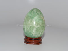 Green Fluorite Egg - Raw Energy Tools