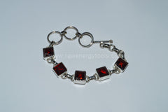 Garnet Bracelet - Raw Energy Tools