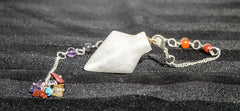 Selenite Dowsing Pendulum