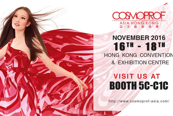 COSMOPROF Asia 2016 ONE FAIR, TWO VENUE