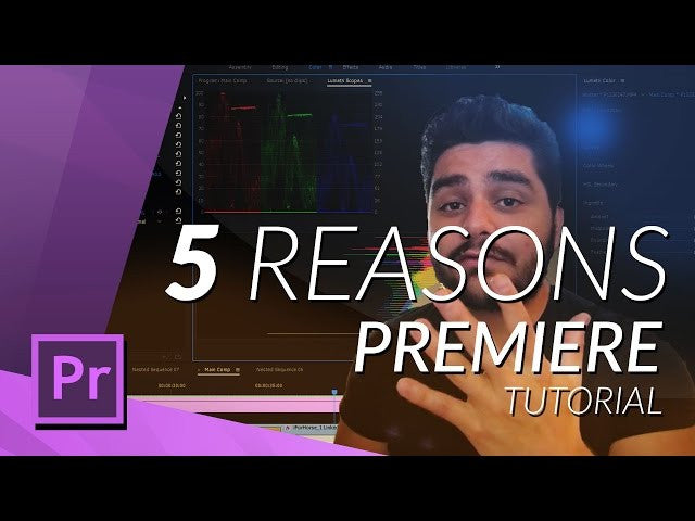 5 REASONS you SHOULD use PREMIERE PRO as a YOUTUBER