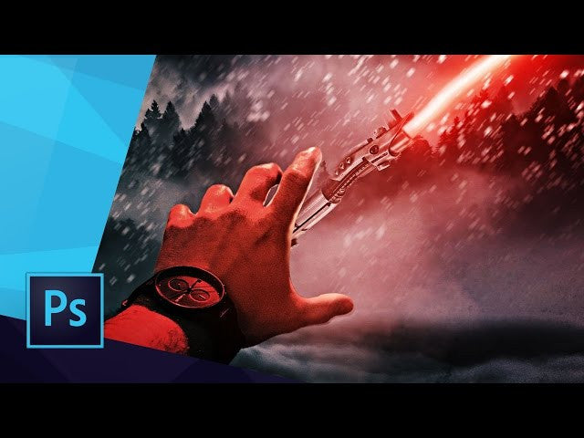 PHOTOSHOP SPEEDART - THE FORCE | STAR WARS