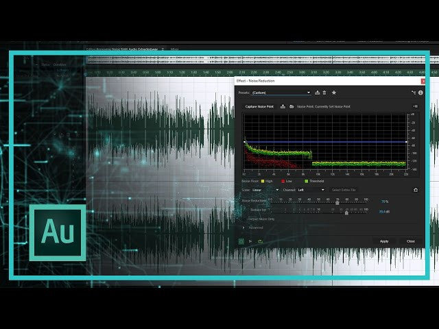 HOW TO REMOVE NOISE IN ADOBE AUDITION